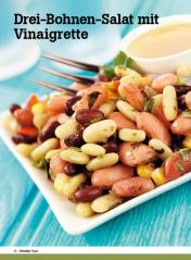 Rezept - Drei-Bohnen-Salat mit Vinaigrette - Healthy Vegan Sonderheft - Vegan - 01/2019