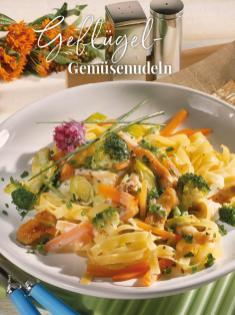 Rezept - Geflügel-Gemüsenudeln - Simply Kreativ Thermomix® Diät Special 01/2019