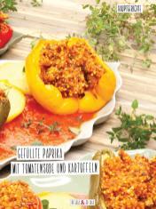 Rezept - Gefüllte Paprika mit Tomatensoße und Kartoffeln - Simply Kochen Sonderheft Detox 01/2019