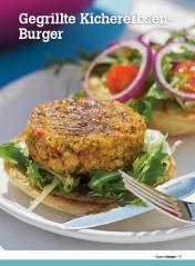 Rezept - Gegrillte Kichererbsen-Burger - Healthy Vegan Sonderheft - Vegan - 01/2019