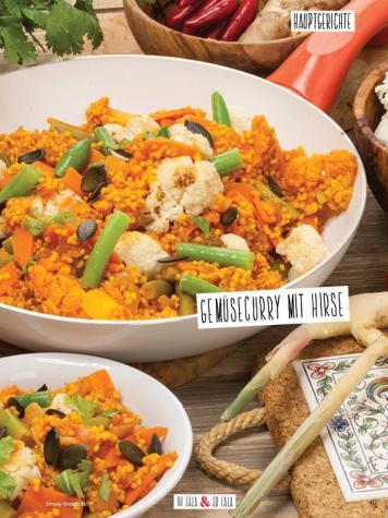 Rezept - Gemüsecurry mit Hirse - Simply Kochen Sonderheft Detox 01/2019