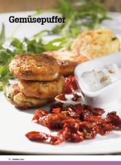 Rezept - Gemüsepuffer - Healthy Vegan Sonderheft - Vegan - 01/2019