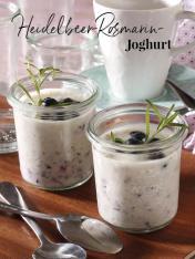 Rezept - Heidelbeer-Rosmarin-Joghurt - Simply Kreativ Thermomix® Diät Special 01/2019