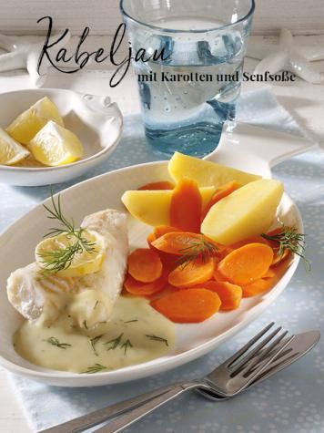 Rezept - Kabeljau mit Karotten und Senfsoße - Simply Kreativ Thermomix® Diät Special 01/2019
