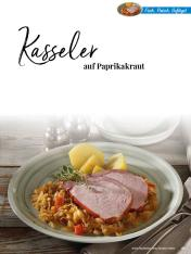Rezept - Kasseler auf Paprikakraut - Simply Kreativ Thermomix® Diät Special 01/2019