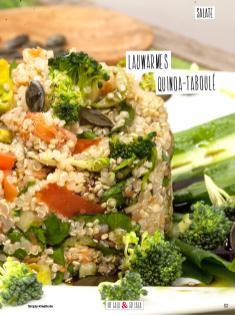 Rezept - Lauwarmes Quinoa-Taboule - Simply Kochen Sonderheft Detox 01/2019