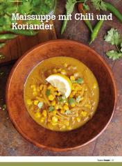 Rezept - Maissuppe mit Chili und Koriander - Healthy Vegan Sonderheft - Vegan - 01/2019