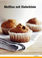 Rezept - Muffins mit Haferkleie - Healthy Vegan Sonderheft - Vegan - 01/2019