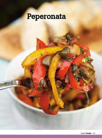 Rezept - Peperonata - Healthy Vegan Sonderheft - Vegan - 01/2019