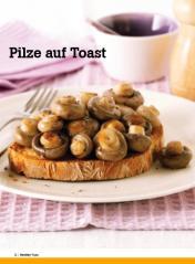 Rezept - Pilze auf Toast - Healthy Vegan Sonderheft - Vegan - 01/2019