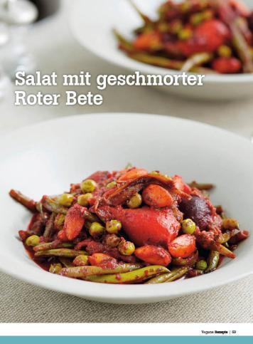 Rezept - Salat mit geschmorter Roter Bete - Healthy Vegan Sonderheft - Vegan - 01/2019
