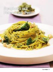 Rezept - Spaghetti mit Petersilien-Pesto - Healthy Vegan Sonderheft - Vegan - 01/2019