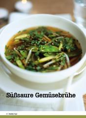 Rezept - Süßsaure Gemüsebrühe - Healthy Vegan Sonderheft - Vegan - 01/2019