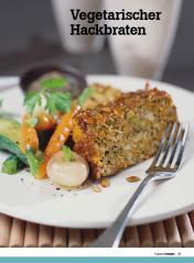 Rezept - Vegetarischer Hackbraten - Healthy Vegan Sonderheft - Vegan - 01/2019