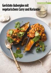 Rezept - Geröstete Aubergine mit vegetarischem Curry und Koriander - Simply Kreativ Healthy Diät-Sonderheft - Keto-Diät - 01/2019