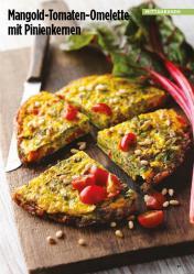 Rezept - Mangold-Tomaten-Omelette mit Pinienkernen - Simply Kreativ Healthy Diät-Sonderheft - Keto-Diät - 01/2019