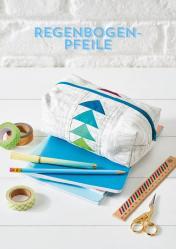 Nähanleitung - Regenbogen-Pfeile - Simply Kreativ Patchwork + Quilting 02/2019