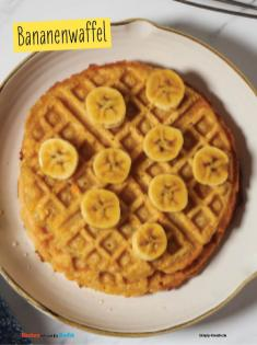 Rezept - Bananenwaffel - Simply Backen mit und für Kinder - mit Nina Kämpf von Mamaaempf