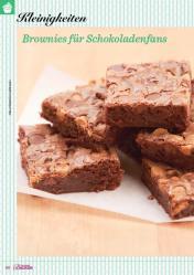 Rezept - Brownies für Schokoladenfans - Das große Backen 02/2019