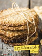 Rezept - Dinkel-Vollkornplätzchen mit Sesam - Simply Backen mit und für Kinder - mit Nina Kämpf von Mamaaempf