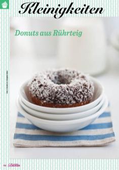 Rezept - Donuts aus Rührteig - Das große Backen 02/2019