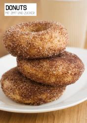 Rezept - Donuts mit Zimt und Zucker - Simply Kochen Sonderheft Paleo-Diät 01/2019