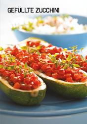 Rezept - Gefüllte Zucchini - Simply Kochen Sonderheft Paleo-Diät 01/2019