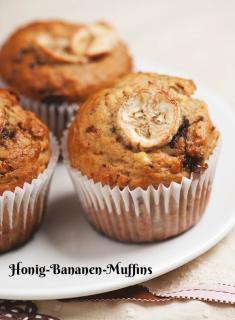 Rezept - Honig-Bananen-Muffins - Simply Kochen Sonderheft Zuckerfrei 01/2019
