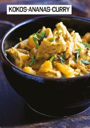 Rezept - Kokos-Ananas-Curry - Simply Kochen Sonderheft Paleo-Diät 01/2019