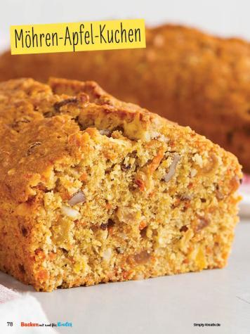 Rezept - Möhren-Apfel-Kuchen - Simply Backen mit und für Kinder - mit Nina Kämpf von Mamaaempf