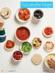 Rezept - Pizza zum selber Belegen - Simply Backen mit und für Kinder - mit Nina Kämpf von Mamaaempf