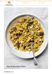 Rezept - Reis mit gemischten Pilzen - Healthy Vegan 02/2019