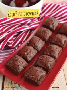 Rezept - Rote Bete-Brownies - Simply Backen mit und für Kinder - mit Nina Kämpf von Mamaaempf