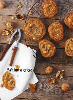Rezept - Walnusskekse - Simply Kochen Sonderheft Zuckerfrei 01/2019