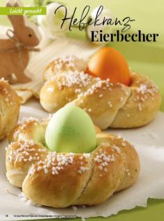 Rezept - Hefekranz-Eierbecher - Simply Backen Special – Osterbacken mit dem Thermomix® 02/2019