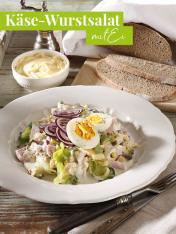 Rezept - Käse-Wurstsalat mit Ei - Simply Kreativ Extra – Leckere Ideen für den Thermomix® 02/2019