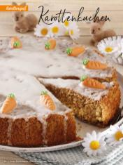 Rezept - Karottenkuchen - Simply Backen Special – Osterbacken mit dem Thermomix® 02/2019