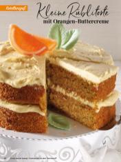 Rezept - Kleine Rüblitorte mit Orangen-Buttercreme - Simply Backen Special – Osterbacken mit dem Thermomix® 02/2019