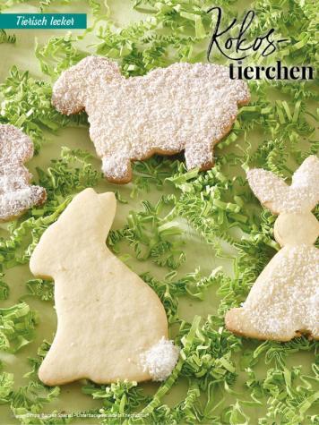 Rezept - Kokos-Tierchen - Simply Backen Special – Osterbacken mit dem Thermomix® 02/2019