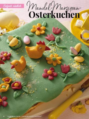 Rezept - Mandel-Marzipan-Osterkuchen - Simply Backen Special – Osterbacken mit dem Thermomix® 02/2019