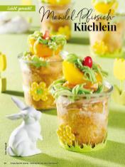 Rezept - Mandel-Pfirsich-Küchlein - Simply Backen Special – Osterbacken mit dem Thermomix® 02/2019