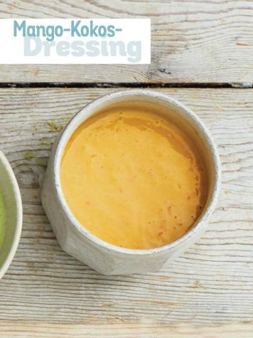 Rezept - Mango-Kokos-Dressing - Simply Kochen Sonderheft - Frühlingssalate