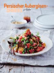 Rezept - Persischer Auberginen-Salat mit Tomaten - Simply Kochen Sonderheft - Frühlingssalate