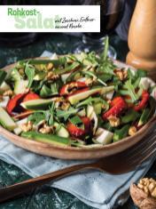 Rezept - Rohkost-Salat mit Zucchini, Erdbeeren und Rucola - Simply Kochen Sonderheft - Frühlingssalate