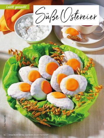 Rezept - Süße Ostereier - Simply Backen Special – Osterbacken mit dem Thermomix® 02/2019