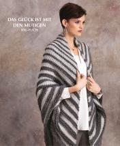 Strickanleitung - Das Glück ist mit den Mutigen - XXL-Tuch - Designer Knitting 02/2019