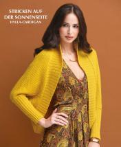 Strickanleitung - Stricken auf der Sonnenseite - Hylla-Cardigan - Designer Knitting 02/2019