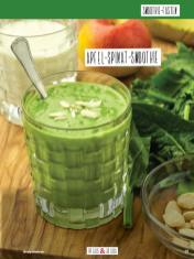 Rezept - Apfel-Spinat-Smoothie - Simply Kochen Sonderheft Basenfasten mit Andrea Sokol
