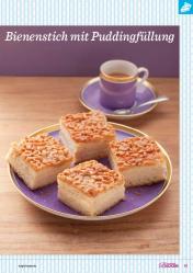 Rezept - Bienenstich mit Puddingfüllung - Das große Backen 03/2019