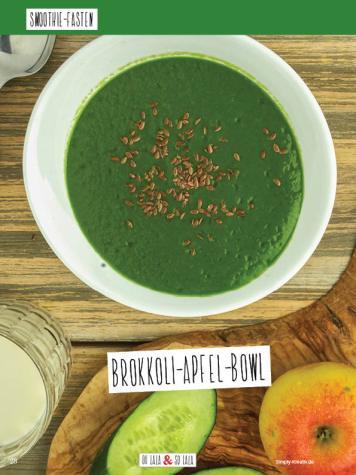 Rezept - Brokkoli-Apfel-Bowl - Simply Kochen Sonderheft Basenfasten mit Andrea Sokol